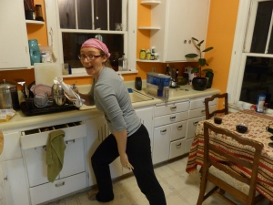 The ideal food therapy is fun in the kitchen--aside from creating delicious nutrition.